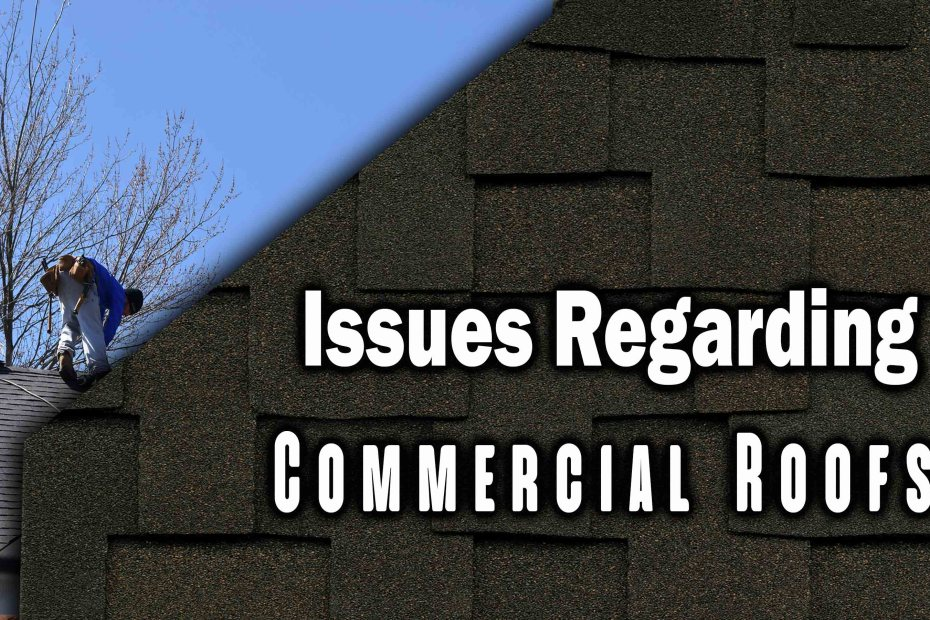 Important Issues Regarding Commercial Roofs That Every Business Owner Must Know