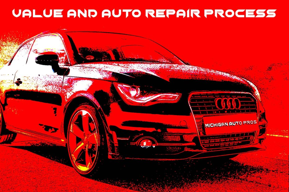 Determining The Value and Auto Repair Process of a Car