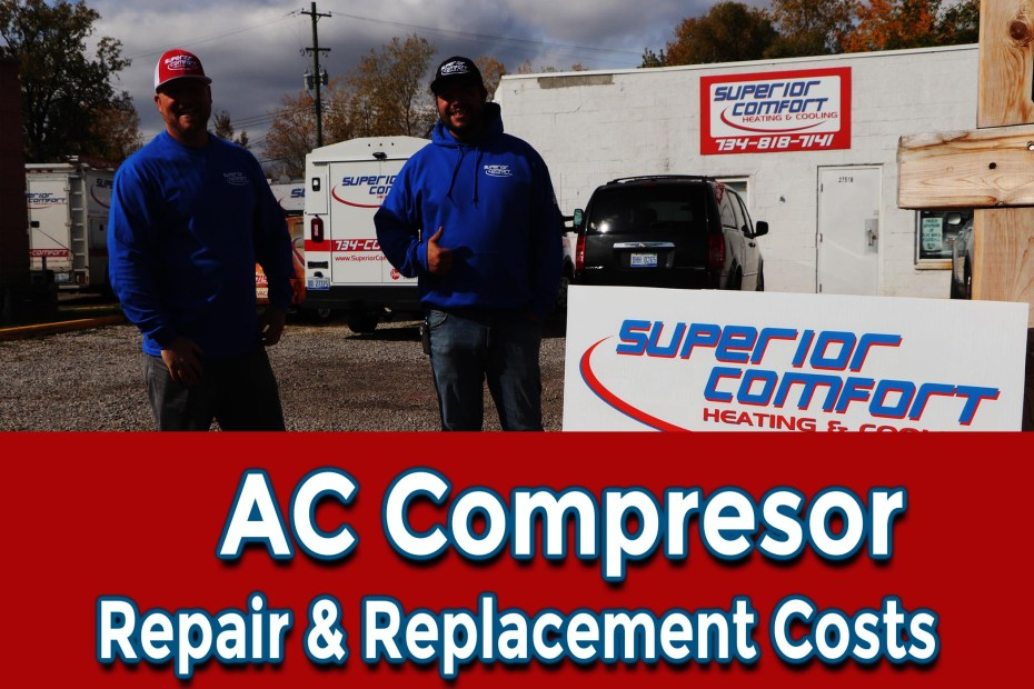 HVAC Finance AC compressor repair and replacement costs