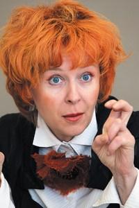Наталия ФИССОН Заслуженная артистка РФ. Свой актерский путь Фиссон начала в знаменитой труппе театра «Лицедеи». С 1991 года работает в театре «Комик-Трест»
