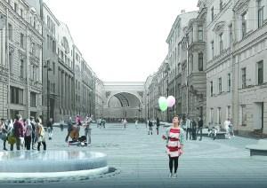 эскизы предоставлены архитектурными масерскими «АМ-ТРИ» и «Хвоя»