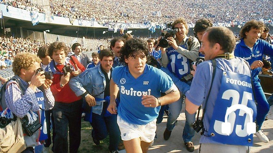 BAFTA nominated Diego Maradona by Asif Kapadia