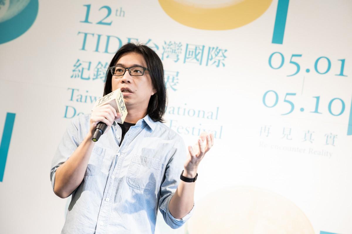 TIDF director Wood Lin