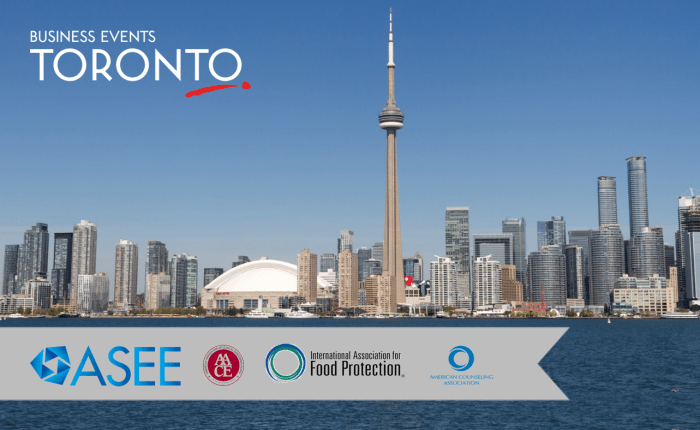4 Conventions Choose to #MeetInToronto