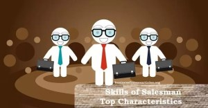 skills of a salesperson