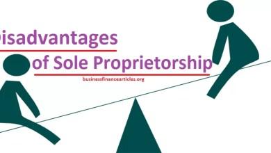 sole proprietorship disadvantages