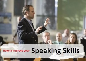 improve speaking skills
