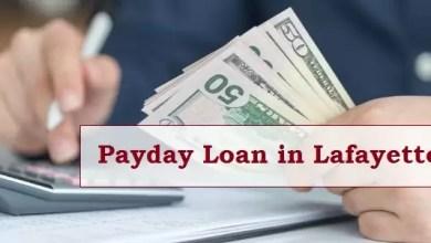 Payday Loan in Lafayette
