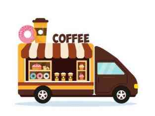 Coffee shop in a car for sale in Dubai