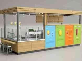 Juice kiosk business for sale in Dubai