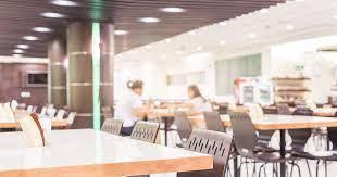 Tazomy tsara ny cafeteria amidy any amin'ny toerana voalohany any Dubai