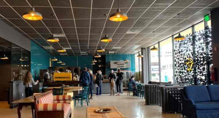 Well Running Big Café shop for sale in Dubai