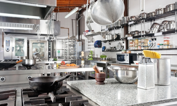 commercial kitchens stainless kitchen cabinets 5 startup restaurant appliances for new