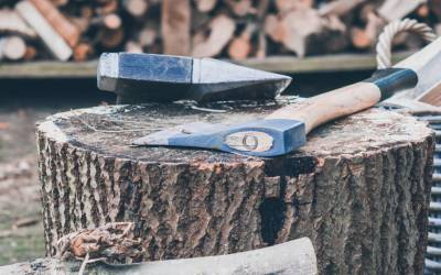 """""""Give me six hours to chop down a tree and I will spend the first four sharpening the axe."""" – Abraham Lincoln"""