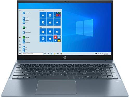 HP Pavilion 11th Gen Intel Core i5 Processor 15.6-inch FHD Laptop with Alexa Built-in (16GB/512GB SSD/Win 10/MS Offce/2GB NVIDIA MX450 Graphics/Fog Blue/1.75 Kg), 15-eg0104TX