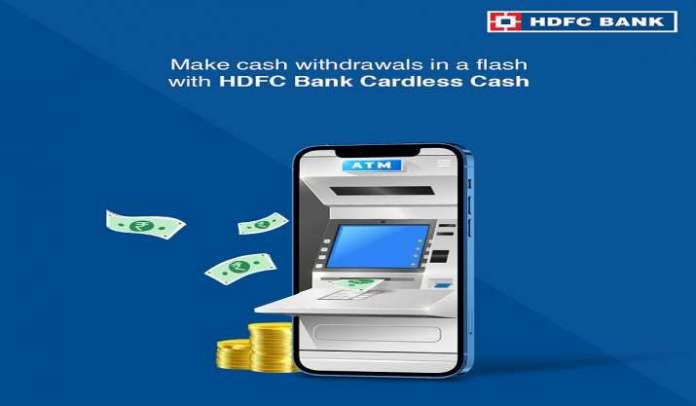 hdfc,hdfc cardless withdrawals, hdfc atm