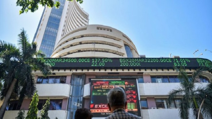 Sensex ends at fresh lifetime high of 56,889 points