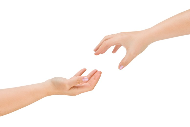 helping hands image