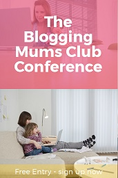 Blogging mums conference