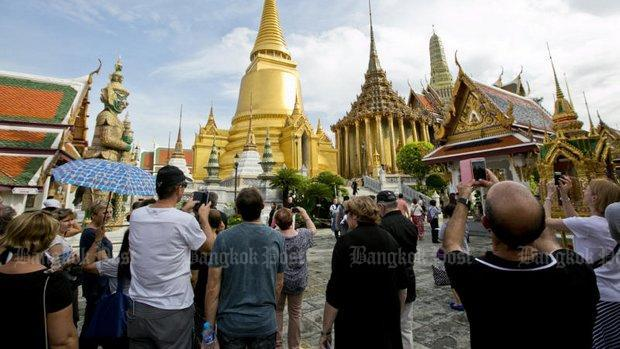 Tourism income up 5% at B885bn in Q1
