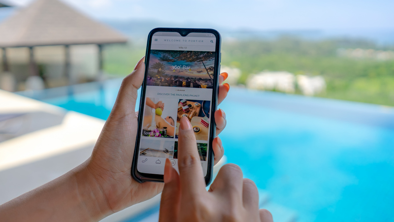 The Pavilions Phuket brings Portier Technologies to guest experience
