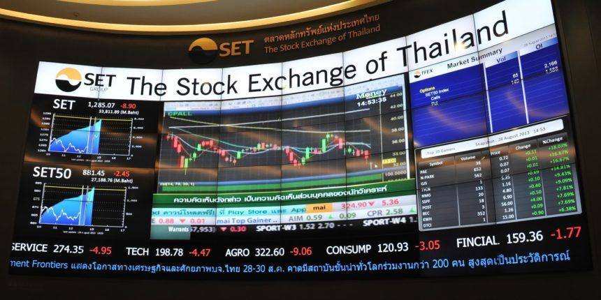 Thai Stock Exchange best performer in Asia – first six months