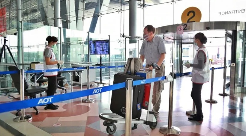 Suvarnabhhumi Airport sees huge jump in traffic