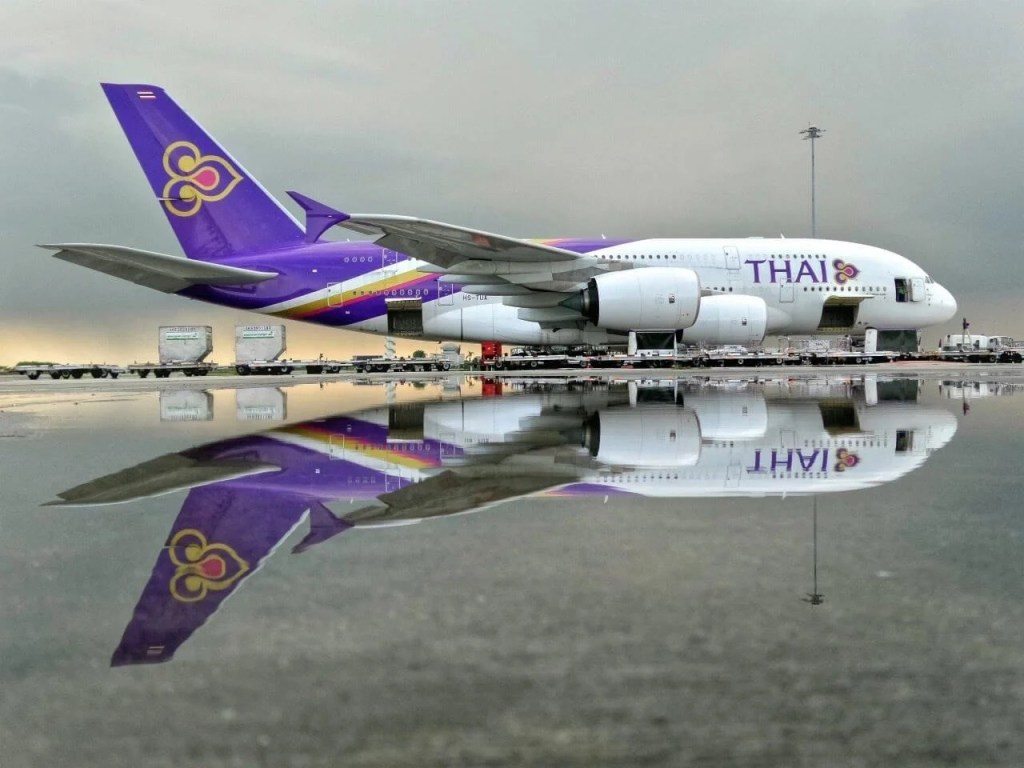 Thai Airways to provide flights to some international destinations this month