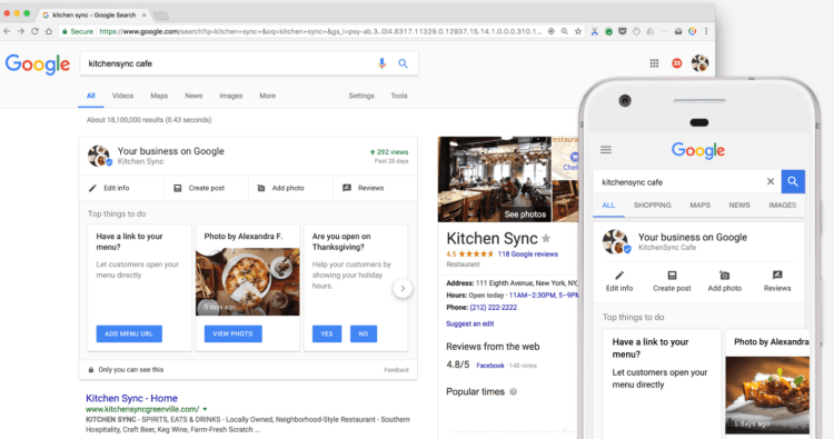 Google Business Page listing help