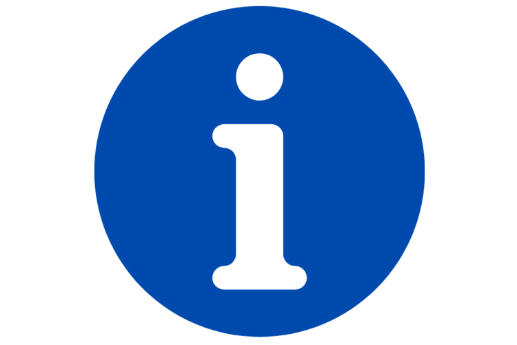Google My Business information icon