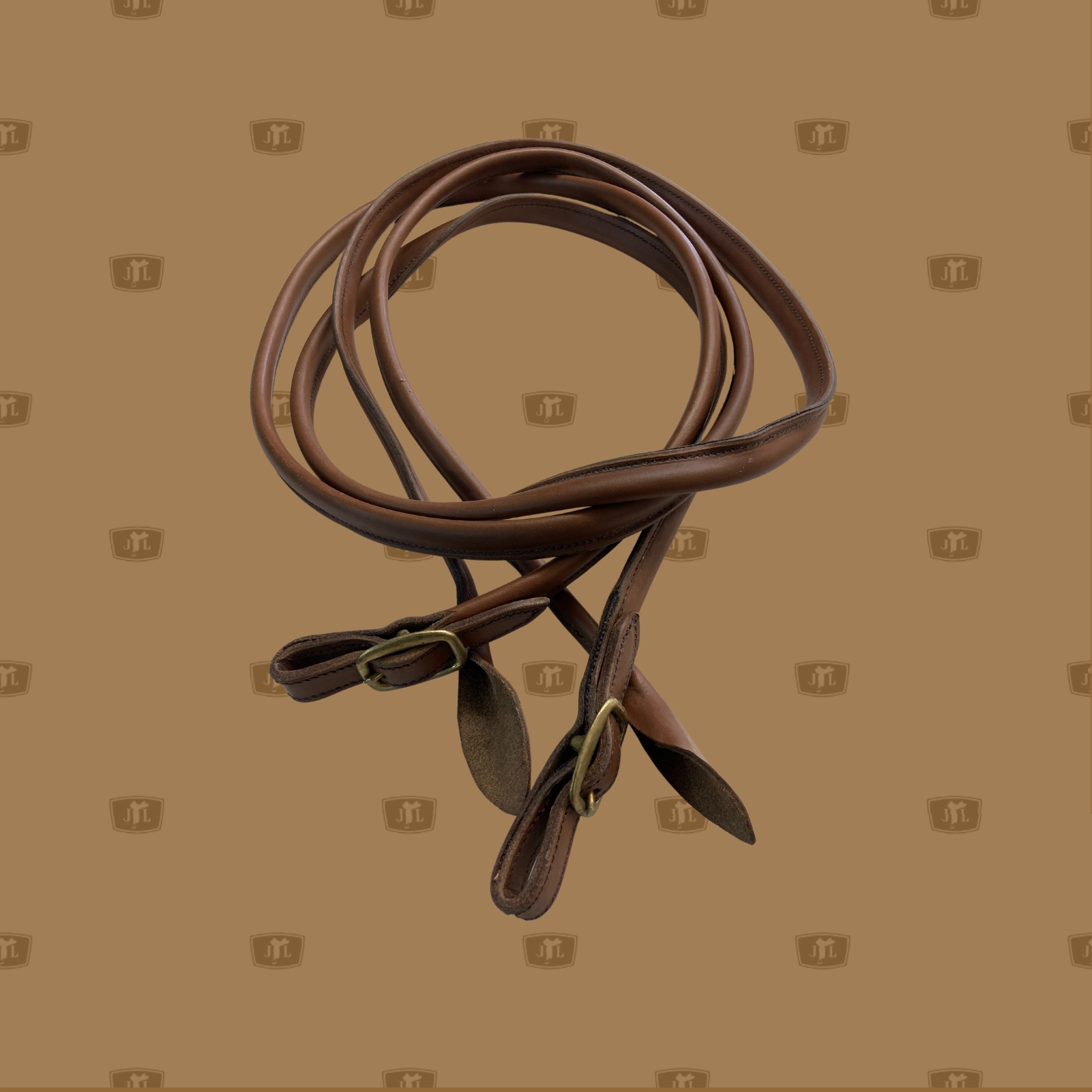 Leather reins hand made by John Lordan