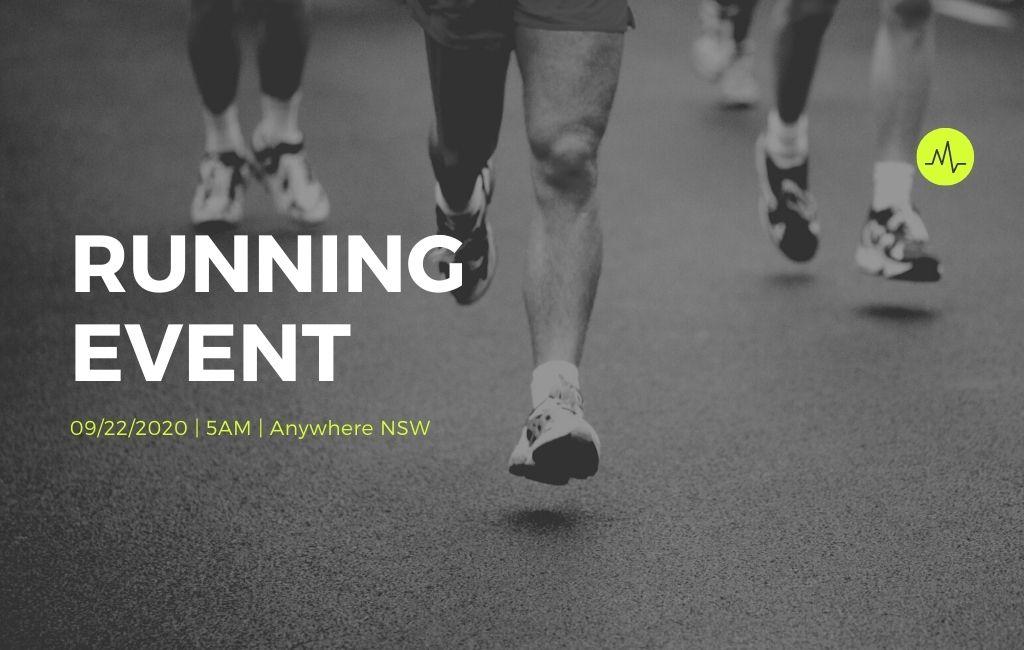 Running Event Website 1