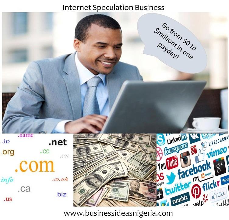 Internet Speculation Business
