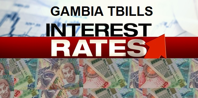 Gambia Treasury Bills Rates - Current & Historical