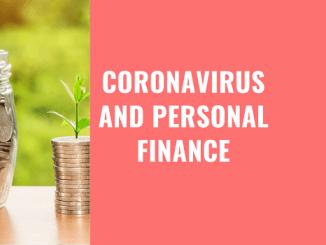 personal finance and coronavirus