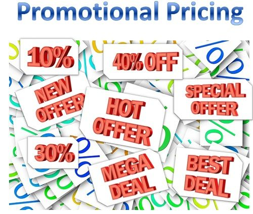 what is promotional pricing