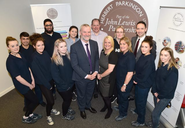 Blackburn College has joined forces with Darwen-based Herbert Parkinson to launch a range of educational opportunities with the textiles manufacturer, backed by John Lewis.