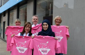Workmates team up for Moonlight and Memories Walk