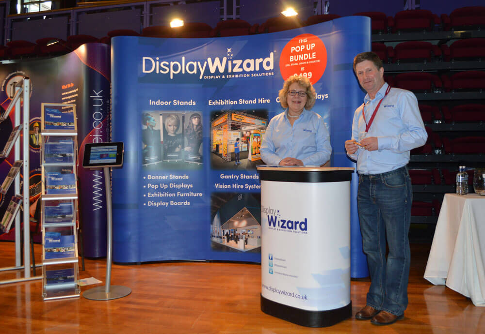 Display Stand Hire Uk : Display wizard has magical year ⋆ business lancashire