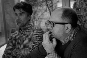 Designers Luke Pearson and Tom Lloyd