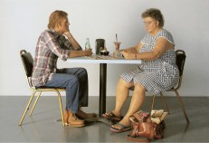 Duane Hanson; Installation view, Serpentine Sackler Gallery (2 June - 13 September 2015). Image Luke Hayes