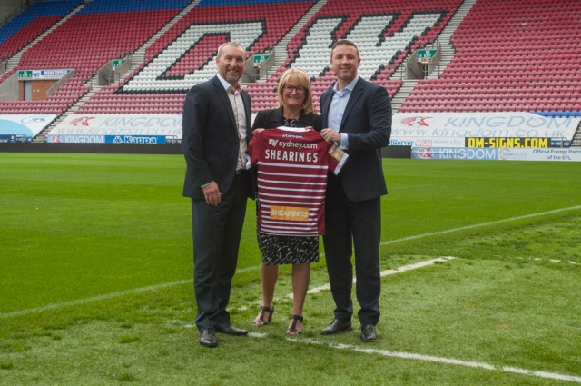 Shearings becomes Wigan Warriors