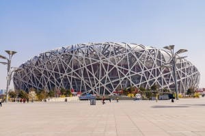 Beijing national stadium. Credit: Zhaojiankang