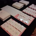 Your badge, event programme, notepad and pen!