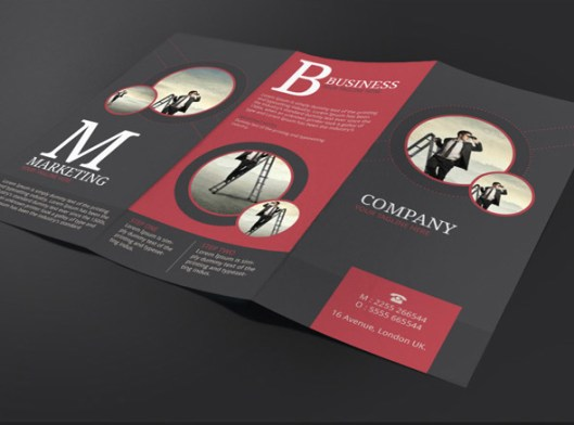 Tri Fold Brochure Template Newsletter Ideas