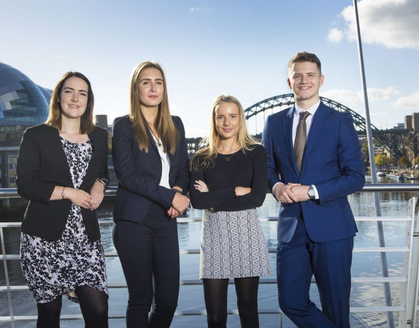 Newcastle law firm Muckle strengthens its team with two new apprentice solicitors