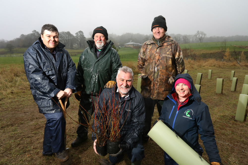 Charity leads project to create natural flood defence at Northumberland golf course