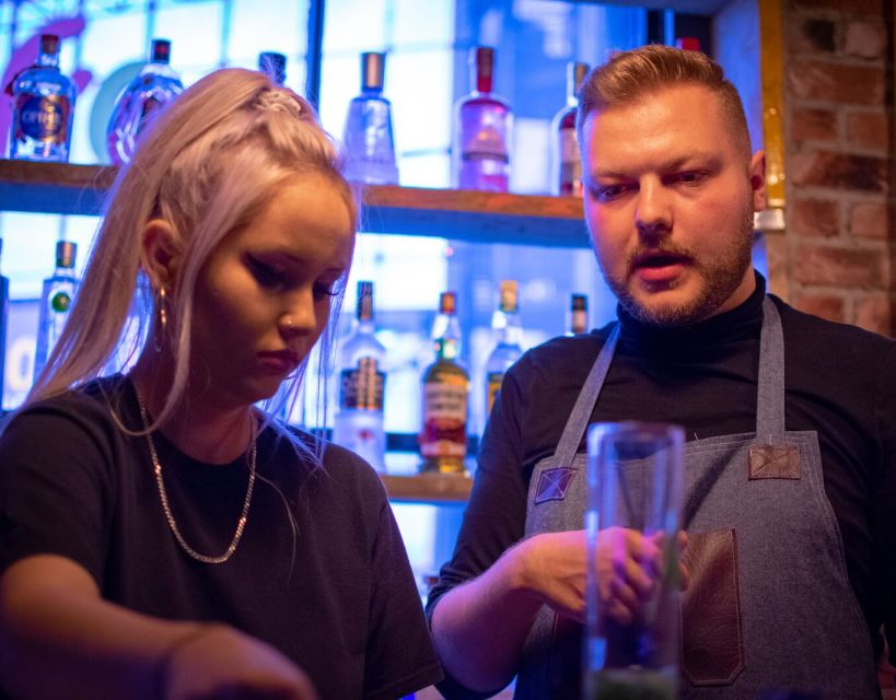 Business man Dan mixes up a cocktail of funded training for Durham bars