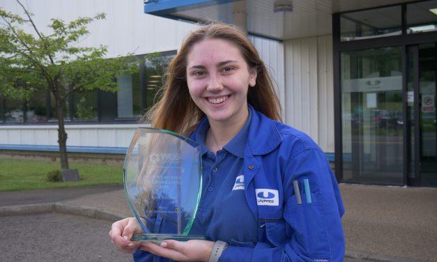 Manufacturing apprentice named among UK's female engineering elite