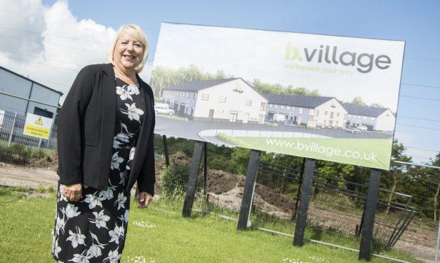 Work underway on energy efficient business village in Northumberland